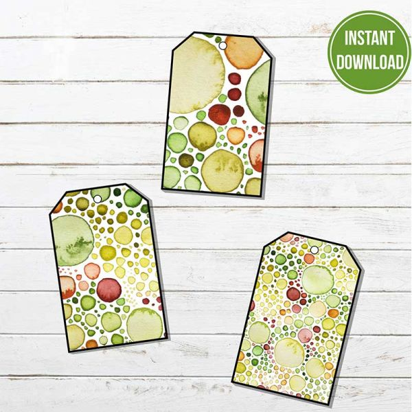 Printable Gift Tags Crocu