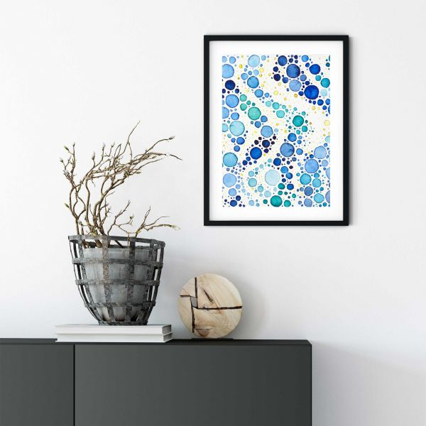 Steltuna Watercolor Print, Vertical