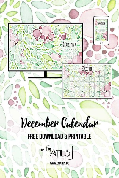 free-december-calendar-2018