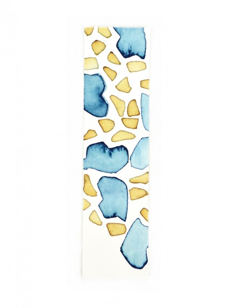 Blue Bookmark Coccoloba