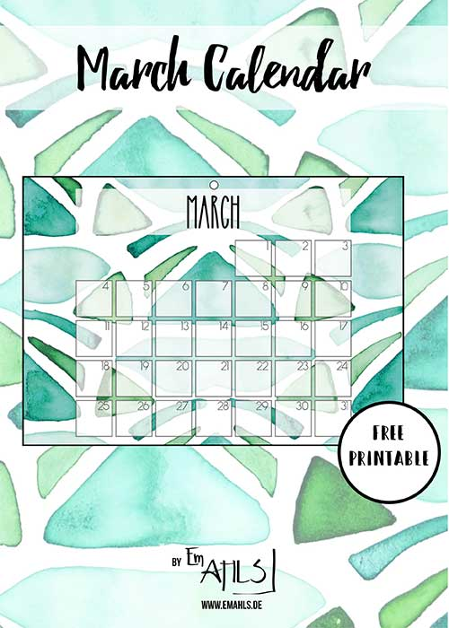 march-calendar-free-printable-2019