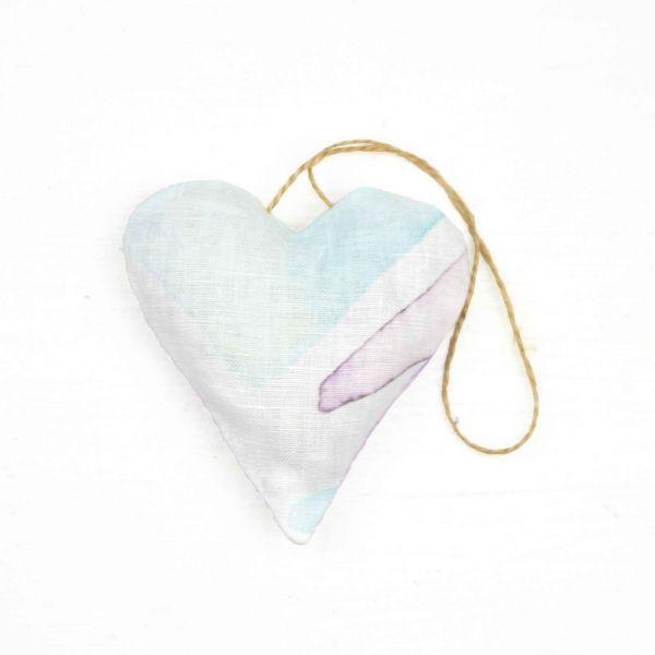 Purple Kitchen Decor, Lavender Heart Wistaria