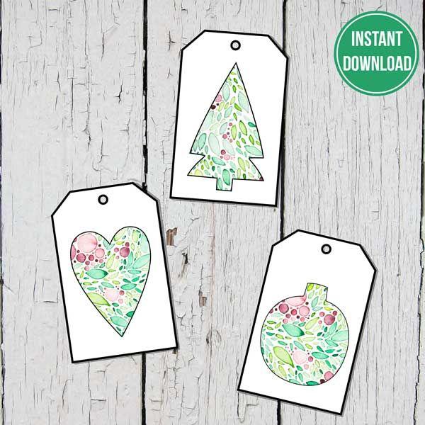 Gift Tags Natani 3 Image Motifs