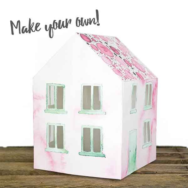Craft Kit Paper House