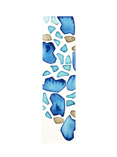 Watercolour Bookmark Coccoloba Baltic