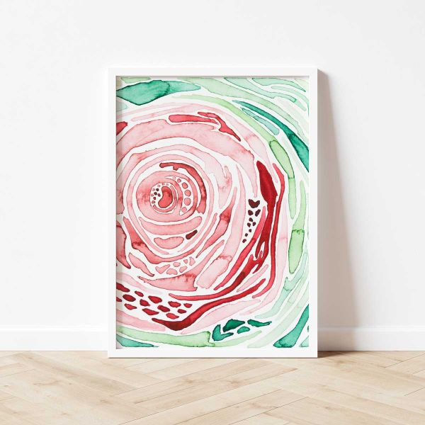 Kunstdruck abstrakt, Castanea HF
