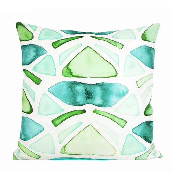 Printed Cushion Nelumba, Design Ficus