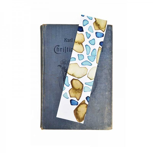 Bookmark with Abstract Art Print - Coccoloba Baltic SVI